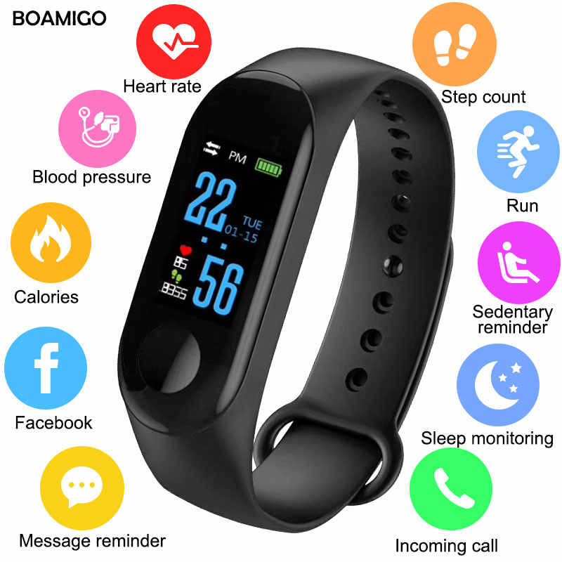 Bluetooth Smart Watch Men Women Heart Rate Monitor Blood Pressure Fitness Tracker Smartband Sport Bracelet For ios Android Phone