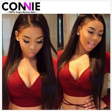 7A Brazilian Virgin Hair Straight 4 Bundles Remy Hair Products Human Hair Weave Unprocessed Mink Brazilian Straight Hair Connie