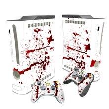 Transporte da gota livre legal protactive vinyl decal adesivo da pele para Xbox 360 # TN-XB360-1044
