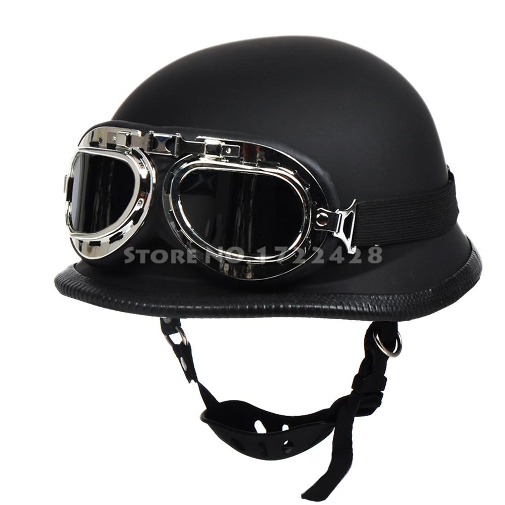 seconde guerre mondiale allemand style vintage moto casque. Black Bedroom Furniture Sets. Home Design Ideas