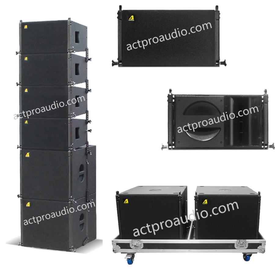 Independent Line Array 10 Inch Mini Line Array Pro Audio Line Array Loudspeaker Dj Speaker Equipment