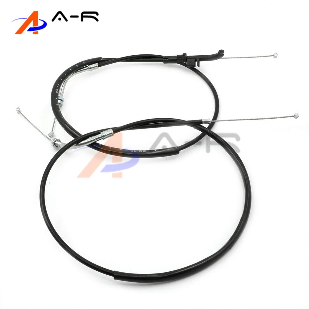For Kawasaki Ninja 300 EX300 2013-2017 Motorcycle Throttle Cable Rope Brake Oil Accelerator Control Wire Line motorcycle clutch cable rope throttle brake oil accelerator control wire line for kawasaki ninja 250 r ex250 08 12 11 10 09