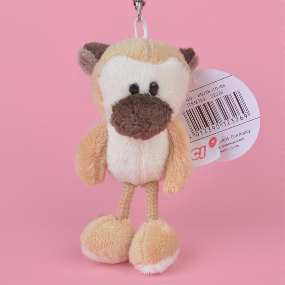 3 Pcs Golden Monkey Small Plush Pendant Toy, Kids Doll Keychain / Keyholder Gift Free Shipping