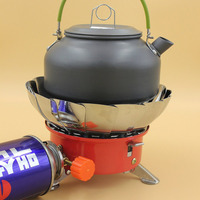Camping Windproof Gas Stove Outdoor Equipment Steel Gas Stove Picnic Gas Burner Gas Burner Portable Backpacking
