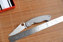 2016 Yidu Oem SPYDERCO Folding Hunting EDC Knife CPM S30V Blade TC4 Titanium Handle Camping Tool Utility Survival Rescue Knives