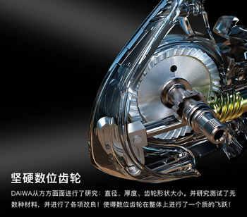 100% original 2018 New Daiwa Legalis LT 1000D 2000D 2500 3000-C 4000D-C 5000D-C 6000D 5BB Spinning Fishing Reel