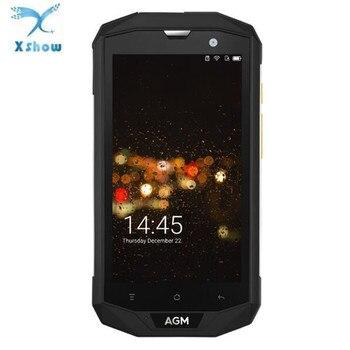 "Original AGM A8 SE IP68 Waterproof Mobile Phone 5.0""HD 2GB RAM 16GB ROM Qualcomm MSM8916 Quad Core 8MP 4050mAh Smartphone 2"