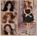 2016new Оригинальный Головка для Куклы Барби, FR Целостности Кукла Глава DIY Аксессуары головы куклы Fashion Royalty