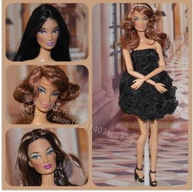 2016new Original Head For Barbi Dolls,FR Integrity Doll  Head DIY Accessories Doll Heads Fashion Royalty