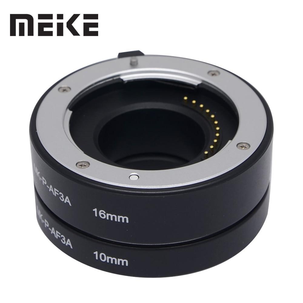 Meike P-AF3-A Tubo de extensión macro automática de enfoque automático de metal para Panasonic y Olympus Micro 4/3 System Camera