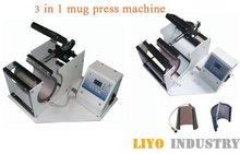 cup mug heat press machine Combined Mug Press free shipping