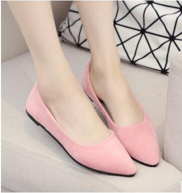 Women Flats Candy Color Woman Loafers Spring Autumn Flat Shoes Women Zapatos Mujer Summer Shoes Flat shoes with small Scrub cresfimix zapatos women cute flat shoes lady spring and summer pu leather flats female casual soft comfortable slip on shoes