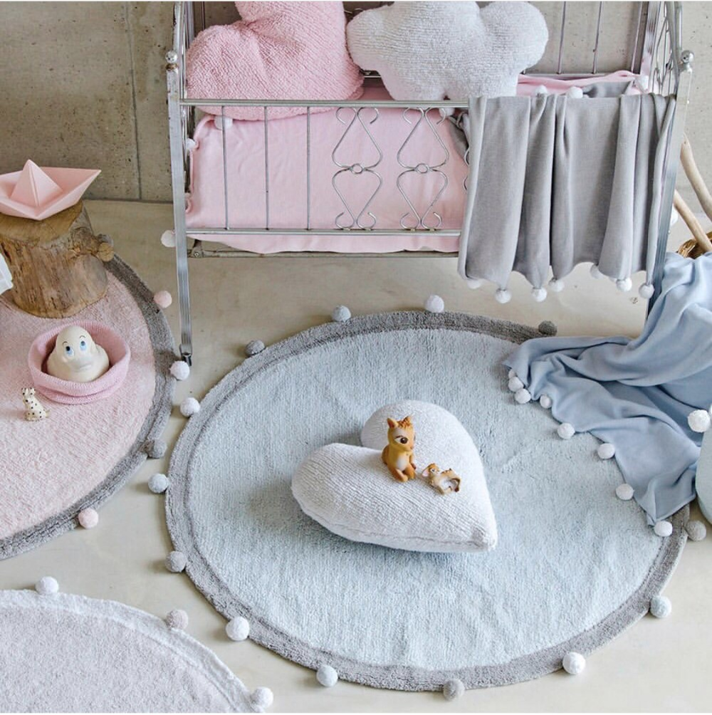 Us 59 9 19 Off Nordic Nursery Decor Play Mat Round Carpet Rugs For Gym Blanket Floor Kids Room High Quality Ins Style In Rug