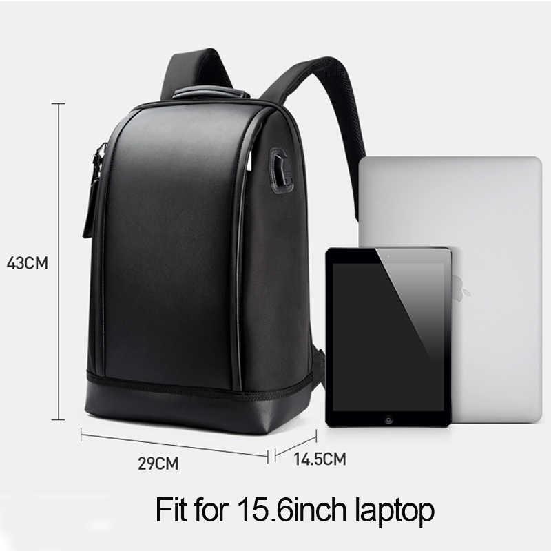 BOPAI מחשב נייד תרמיל חיצוני USB תשלום יציאת עבור 15.6 אינץ מחשב תרמילי נגד גניבה עמיד למים שקיות לגברים זרוק חינם