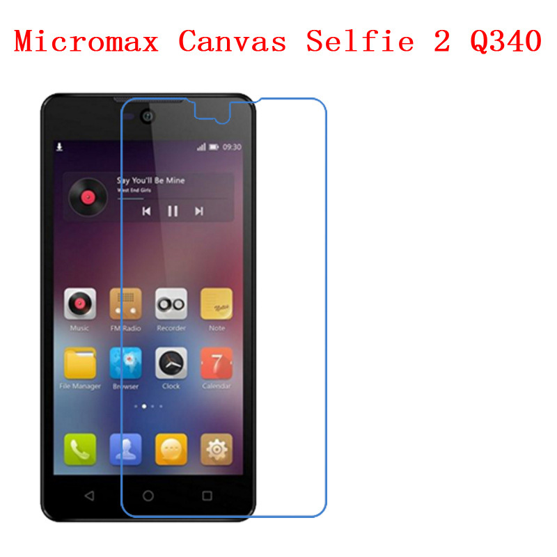 For Micromax Canvas Selfie 2 Q340 Resist the impact  fall  scratch, nano TPU explosion-proof screen protective film