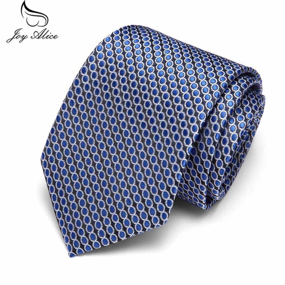 Navy Blue Classic Ties for Bridegroom Men Dot Black Color 7.5 cm Slim Neck Wedding Tie Skinny Groom