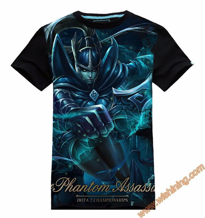 DOTA 2 Phantom Assassin t-shirt Tee8701 (1)