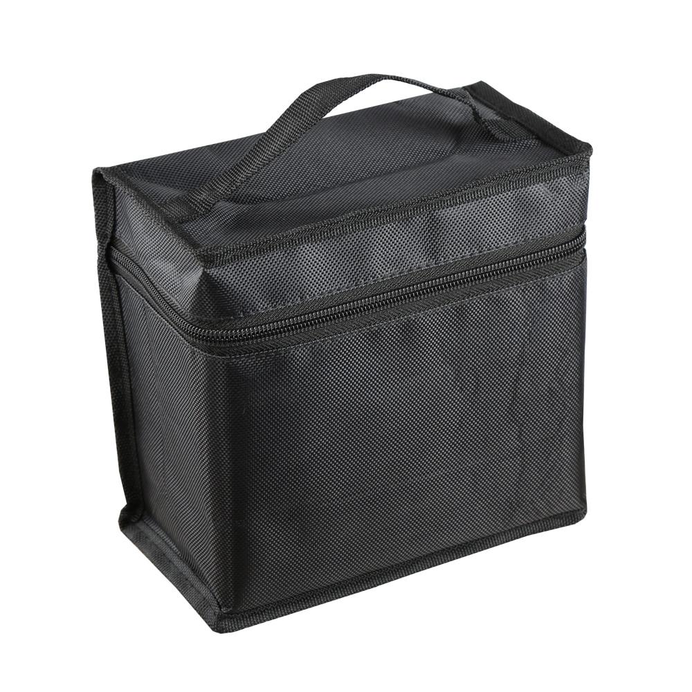 Black Bags Storage Organiser Holder For 36 48 60 80 Slot Art Drawing Marker Pens