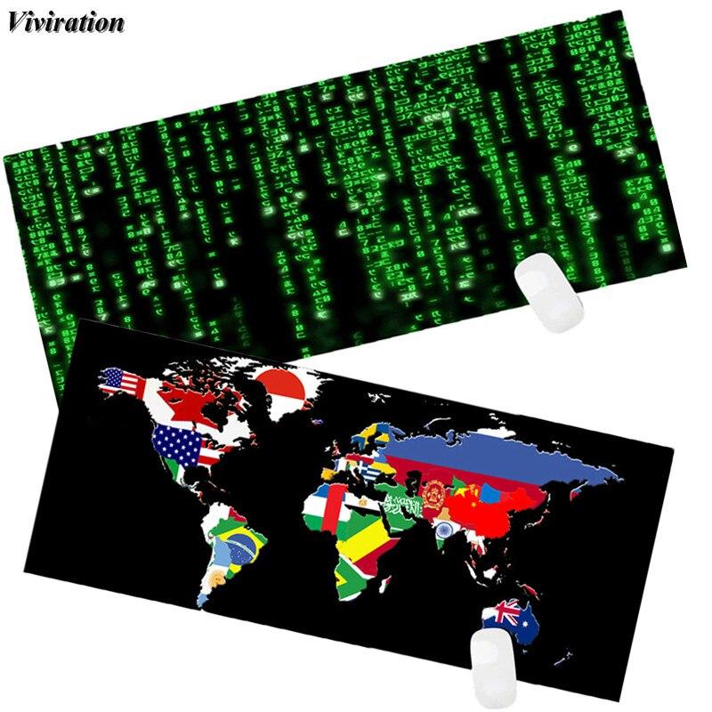 Viviration QI мешок торговый магазин новый 900x400 мм XL Мышь Pad Закрытая край Настольный игровой Мышь pad нескользящие компьютер Мышь мат