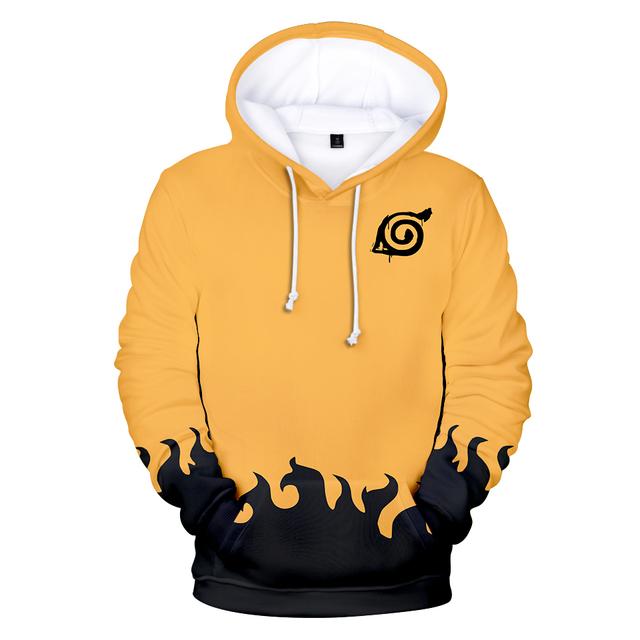 Naruto 3D Print Hoodie Sweatshirt