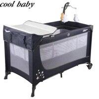 Крутая детская многофункциональная складная кроватка портативная Детская кроватка Колыбель для кроватки