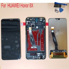 6.5 For Huawei Honor 8X JSN-L21 JSN-L42 JSN-L22 LCD Display Touch Screen Digitizer Assembly Replacement With Frame