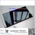 Лучшее качество оригинала гарантия Серый золото Для HTC one E9 E9w E9X ЖК-дисплей + Сенсорная Панель экрана Планшета с рамкой & в наличии!