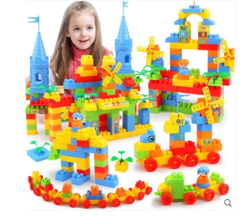 Diplomatic Children's Building Blocks Toy Brain Game Plastic Plug Toy With Traditional Methods