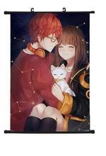 Japan Anime Aokana Ao no Kanata Four Rhythm Home Decor Poster Wall Scroll 40x60cm