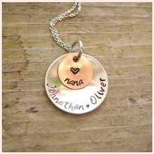SG personalized Tow layers of 925 sterling silver family name necklace fashion jewelry letter gift for
