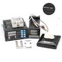 PC410 PID Temperature Controller Panel+REX C100 + Max.40A SSR + K Thermocouple Probe + Ceramic Heat Plate For BGA Rework Station
