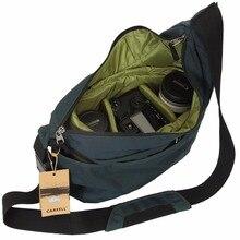Nouveau CAREELL C2028 Portable petit sac dappareil photo de voyage étanche décontracté sacs à bandoulière pour Canon Nikon Mini sac photo antichoc