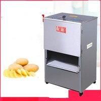 220 v comercial elétrico carne vegetal slicer batata máquina de trituração de carne automática máquina de corte comercial ue/au/uk/eua|Processadores de alimentos| |  -