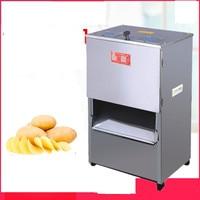 220V Commercial Electric Meat Vegetable Slicer Potato Meat Shredding Machine Automatic Commercial Cutting Machine EU/AU/UK/US