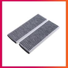 Салонных фильтров для AUDI A6 C6 R8 A4 B8 2004- воздушный фильтр с активированным углем фильтры кондиционирования воздуха 4F0 898 438 A B C 4F0 819 439 A