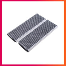 Cabin Filters For AUDI A6 C6 R8 A4 B8 2004-2015 carbon Air filter air conditioning Filters 4F0 898 438 A B C 4F0 819 439 A(China)