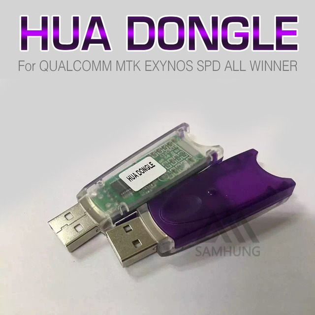 2016 newest 100% original HUA Dongle hua dongle for huawei unlock repair  imei write nvram format root Qualcomm mtk exynos spd-in Readers & Backup  from