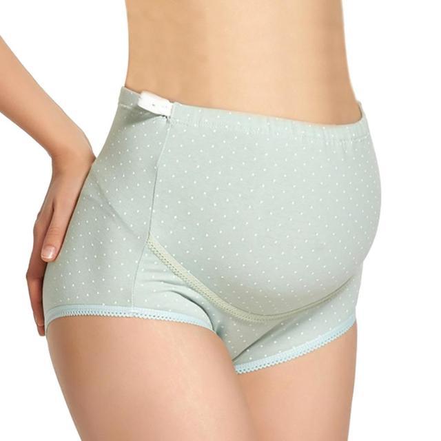 3859d64067f Cotton Pregnancy maternity briefs Maternity Women Underwear Panty  Adjustable Women clothes High-Waist Briefs Plus Size XXL XXXL