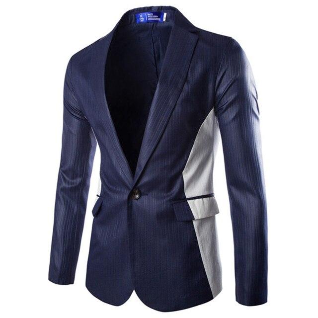 2015 tejidos Especiales Vestido de Novia Fiesta Terno Masculino Blaser Chaqueta de Los Hombres Azul Marino Negro Gris Traje Hombre Chaqueta