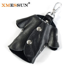 XMESSUN Brand Genuine Leather Key Wallets Keychain Cowhide Leather Purse Car Key Case Fashion Women Housekeeper Holders Z922(China)