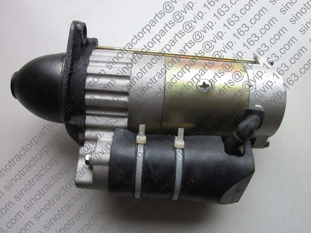Shandong Taishan KM454 tractor parts, the starter motor for engine FD395T benq 5j j8c05 001 original replacement lamp for sh963 pack lamp 1