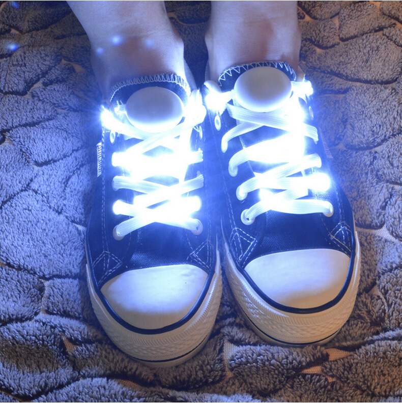 Valentines Day Originality Dancing Skating Party Supplies Luminescence Shine Nigh Light Shoelace Outdoors Concert Ornament
