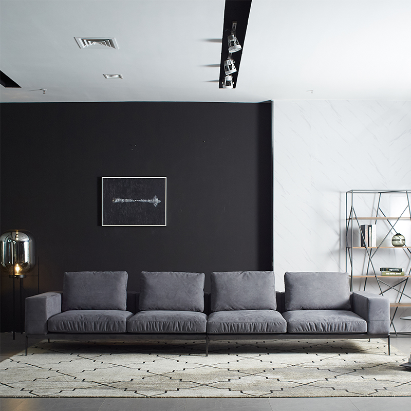Leather Sofas L Shaped Sofa In Foshan