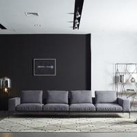 Modern Italian Leather Sofas L Shaped Sofa In Foshan