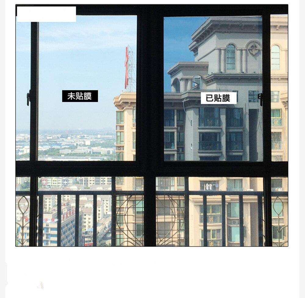 1 52m7m Top Verkauf Blau Silber Farbe reflektierende wärmeabgabe