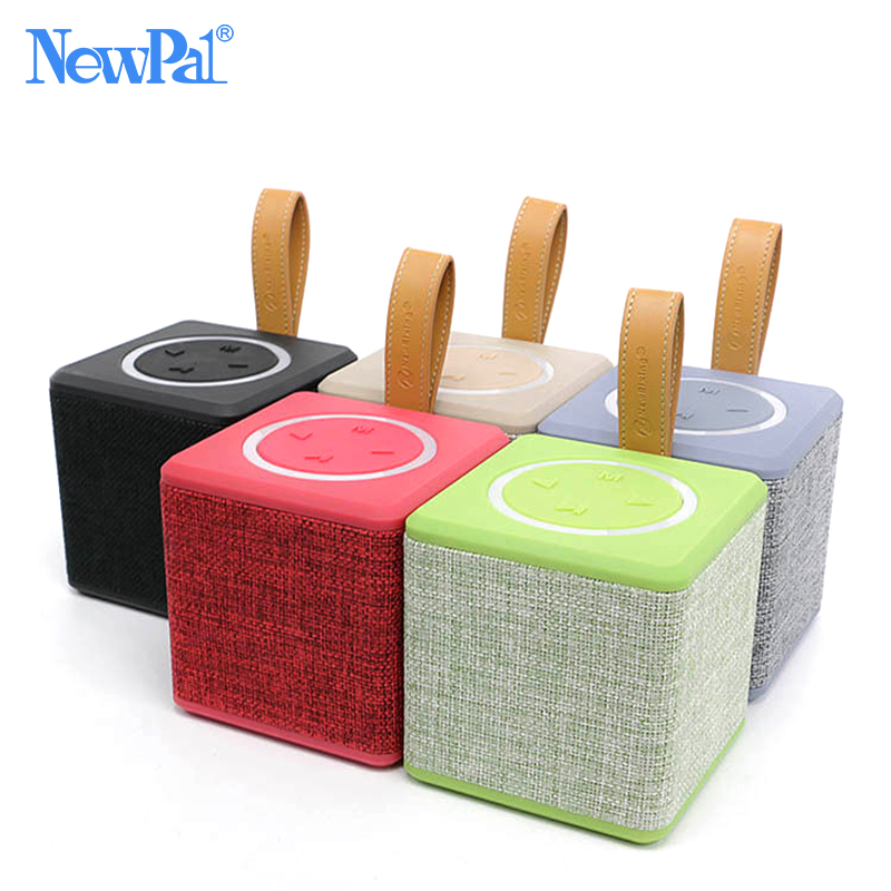 Fashion Mini Speaker Bluetooth Portable Speakers Super Bass Loudspeakers Support TF Card FM Radio For IOS Android Phones
