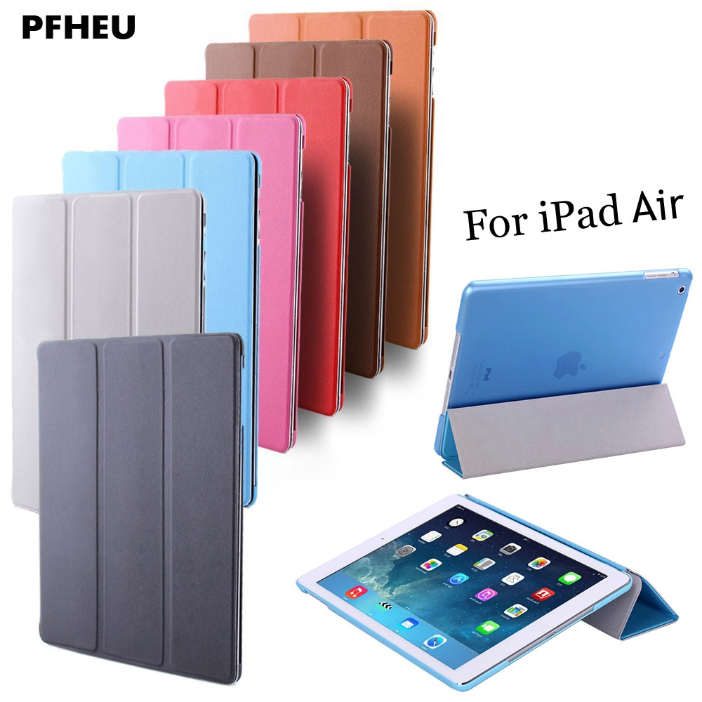 For iPad Air 1 ,PFHEU Color PU Smart Cover Case Magnet wake up sleep For APPle iPad Air1 Retina,2013 ReleaseFor iPad Air 1 ,PFHEU Color PU Smart Cover Case Magnet wake up sleep For APPle iPad Air1 Retina,2013 Release