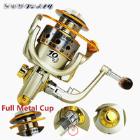 Spinning Fishing Reel Metal Coil 12 Ball Bearing 1000 7000 Series Spinning Reel Boat Rock Fishing