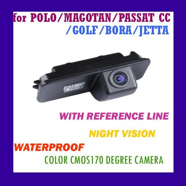 CAR REAR VIEW REVIEW COLOR WATERPROOF/NIGHT VISION CAMERA FOR PORSCHE CAYENNE VW TIGUAN TOUAREG POLO PASSAT GOLF(CA-538)