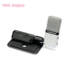 100% Original SAMSON Go Mic Clip Microphone Computer Portable USB Condenser video Record Wav For Laptop Ipad Juitar